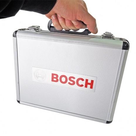 Zestaw dłut i wierteł SDS-PLUS (11 sztuk) + walizka aluminiowa BOSCH