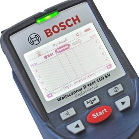 Detektor wykrywacz D-TECT 150 SV BOSCH