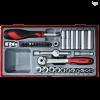 35-elementowy zestaw narzędzi nasadkowych 1⁄4′′ Teng Tools