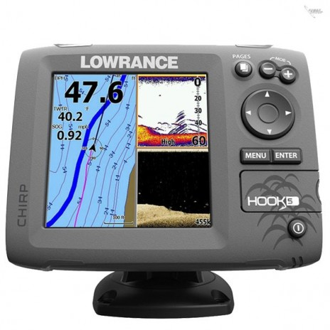 Hook 5 Mid/High/DownScan™  000-12656-001 Lowrance